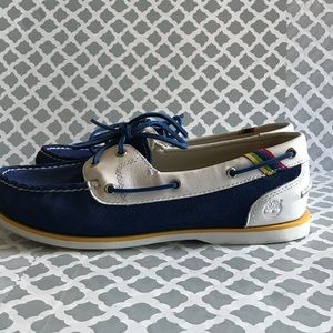 Timberland  Genuine Leather/Suede Boat Shoes